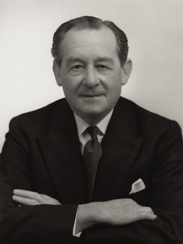 Sir Hubert Ashton, by Bassano Ltd, 13 May 1959 - NPG x170179 - © National Portrait Gallery, London