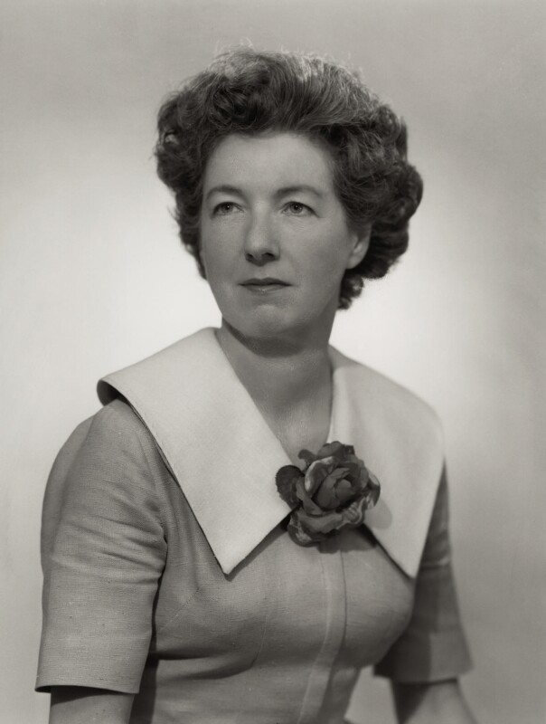 (Florence) Patricia Alice McLaughlin, by Bassano Ltd, 3 June 1959 - NPG x170181 - © National Portrait Gallery, London