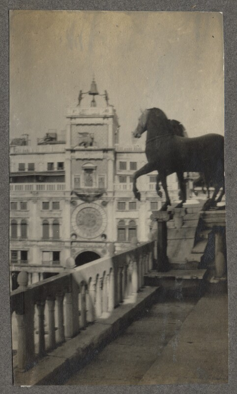 St Mark's Square, by Lady Ottoline Morrell, August-September 1908 - NPG Ax140199 - © National Portrait Gallery, London