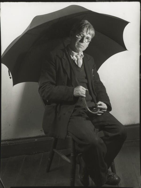Sir Stanley Spencer, by Ida Kar, 1954 - NPG x127159 - © National Portrait Gallery, London