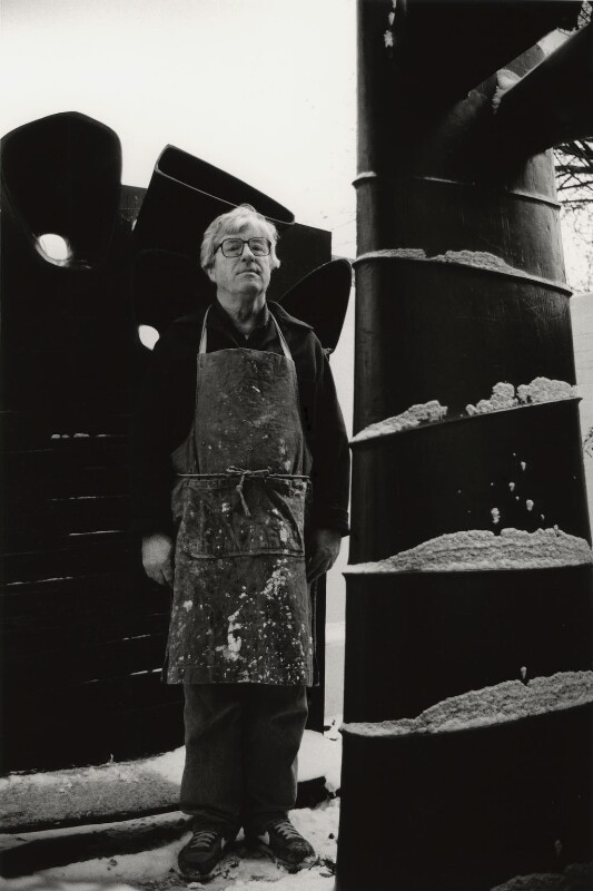 (William) Kenneth Armitage, by Jill Kennington,  - NPG x127153 - © Jill Kennington / National Portrait Gallery, London