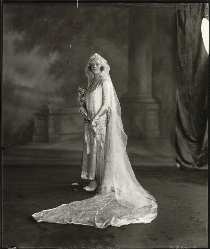 Edwina Cynthia Annette (née Ashley), Countess Mountbatten of Burma, by Vandyk, 18 July 1922 - NPG x129674 - © National Portrait Gallery, London