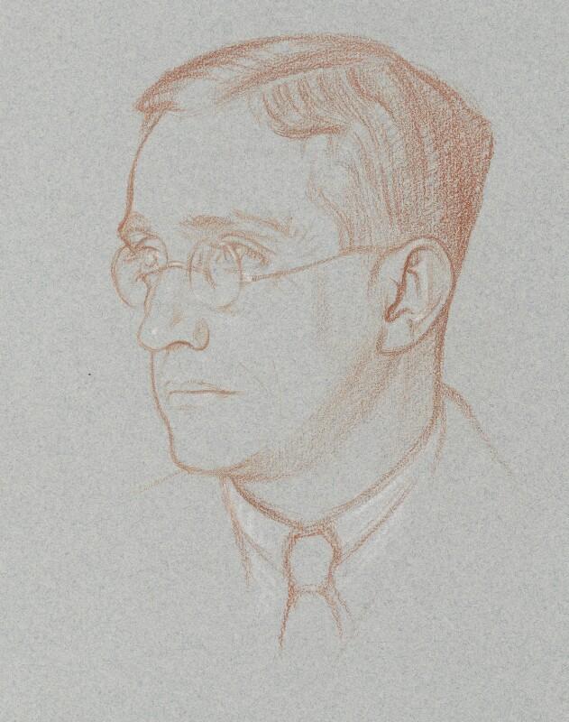 Leon Underwood, by Sir William Rothenstein, 1920 - NPG 6711 - © National Portrait Gallery, London