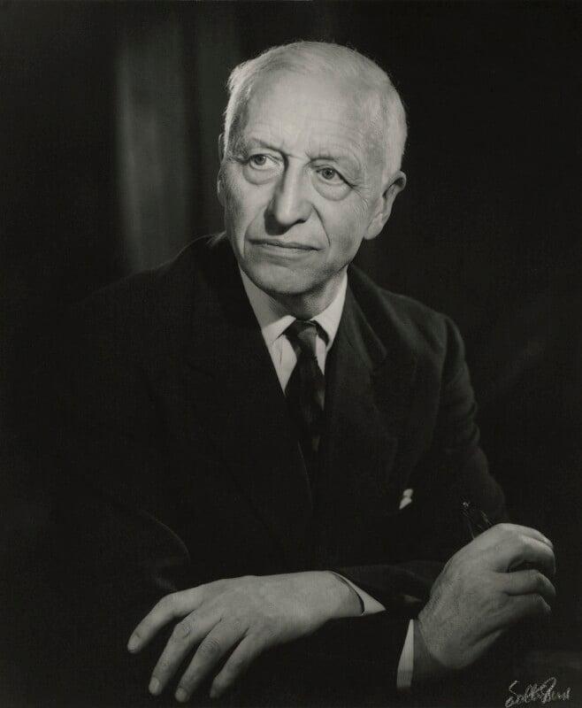 Charles Kingsley Adams, by Walter Bird, December 1964 - NPG x26340 - © National Portrait Gallery, London