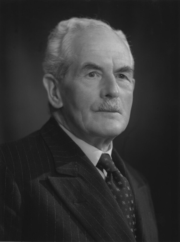 Donald Rutherfurd Dacre Fisher, by Bassano Ltd, 26 September 1960 - NPG x170484 - © National Portrait Gallery, London