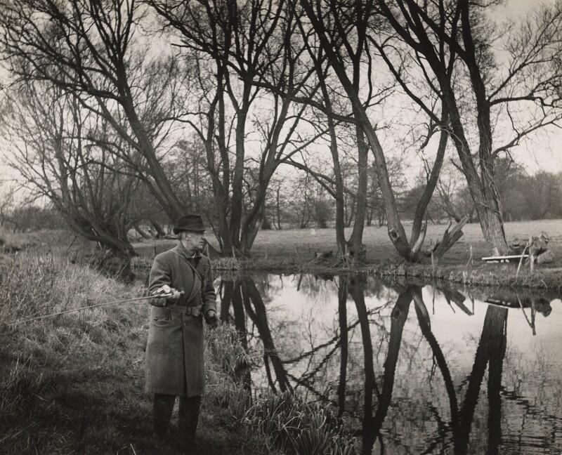 John Nash, by Kurt Hutton (Kurt Hubschman), 1958 - NPG x127182 - © reserved; collection National Portrait Gallery, London