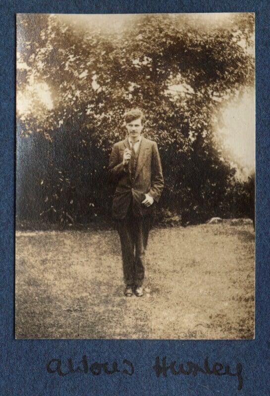 Aldous Huxley, by Lady Ottoline Morrell, 1917 - NPG Ax140505 - © National Portrait Gallery, London