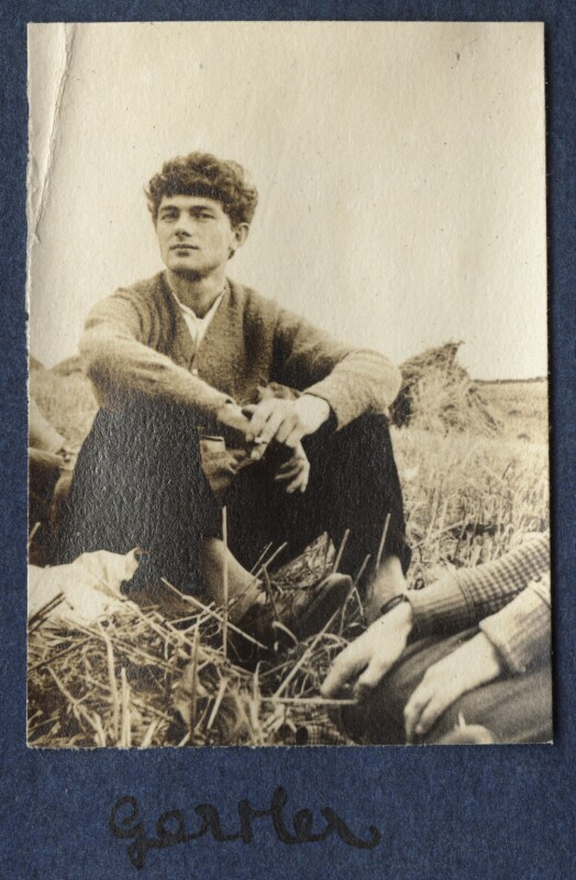 Mark Gertler, by Lady Ottoline Morrell, 1917 - NPG Ax140527 - © National Portrait Gallery, London