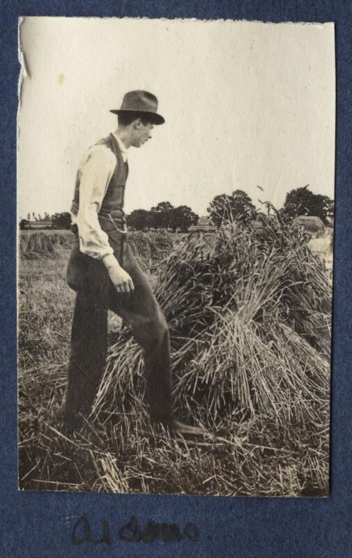 Aldous Huxley, by Lady Ottoline Morrell, 1917 - NPG Ax140532 - © National Portrait Gallery, London