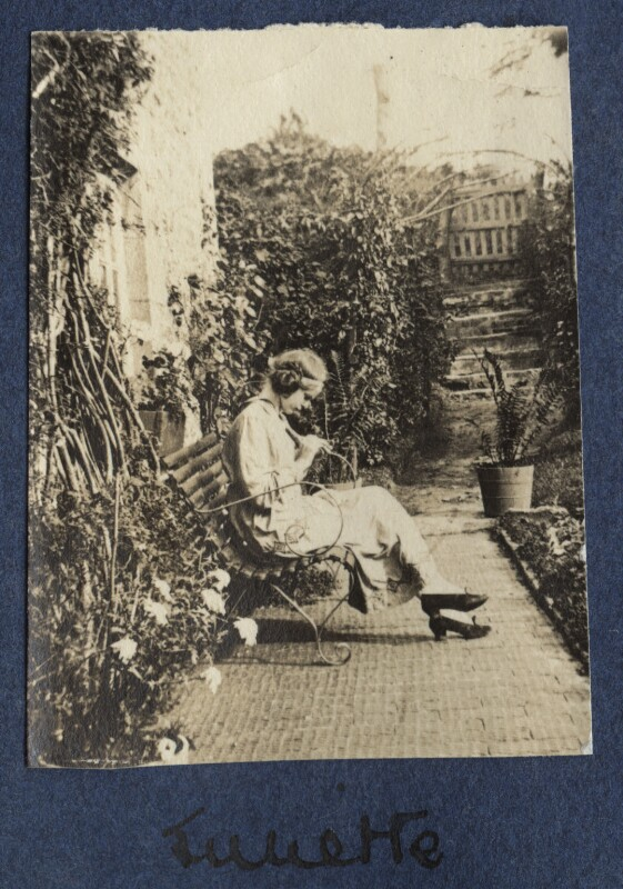 Juliette (née Baillot), Lady Huxley, by Lady Ottoline Morrell, 1917 - NPG Ax140571 - © National Portrait Gallery, London