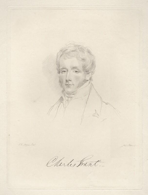 Charles Grant, Baron Glenelg, by Frederick Christian Lewis Sr, after  Joseph Slater, 1826 or after - NPG D20577 - © National Portrait Gallery, London