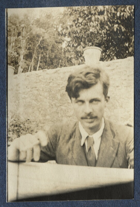 Aldous Huxley, by Lady Ottoline Morrell, 1917 - NPG Ax140597 - © National Portrait Gallery, London