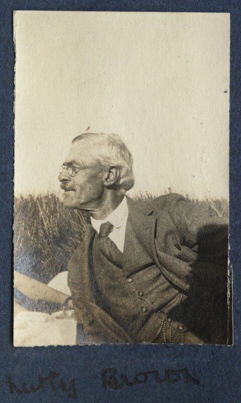 Frederick Brown, by Lady Ottoline Morrell, 1917 - NPG Ax140605 - © National Portrait Gallery, London