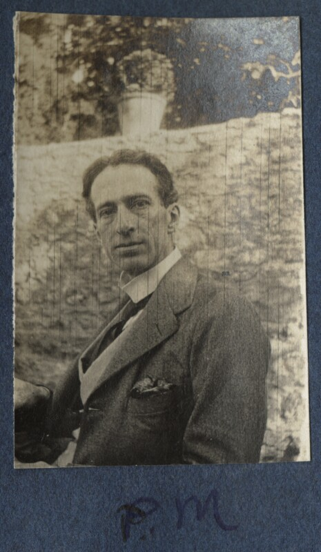 Philip Edward Morrell, by Lady Ottoline Morrell, 1917 - NPG Ax140609 - © National Portrait Gallery, London