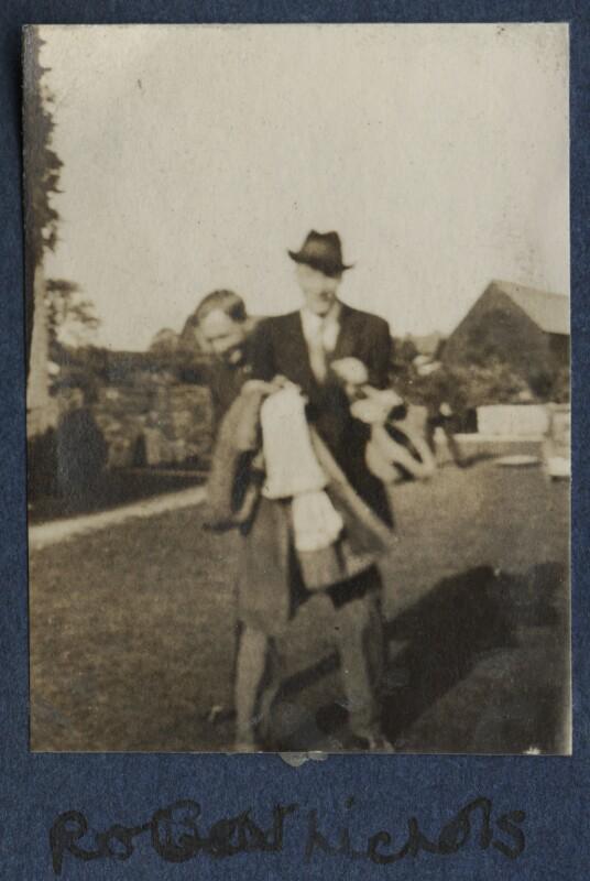 Robert Malise Bowyer Nichols, by Lady Ottoline Morrell, 1920 - NPG Ax140743 - © National Portrait Gallery, London