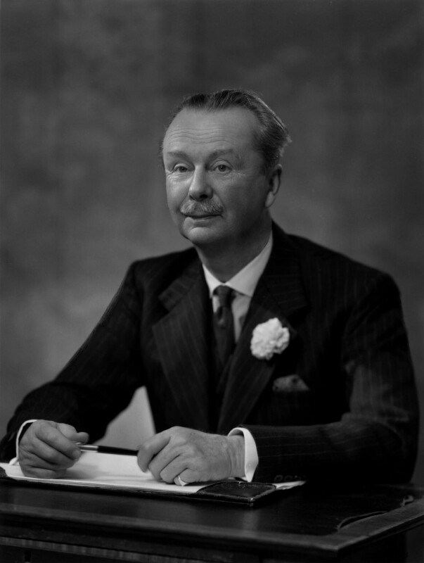 Sir John Renton Aird, 3rd Bt, by Bassano Ltd, 17 May 1961 - NPG x170881 - © National Portrait Gallery, London