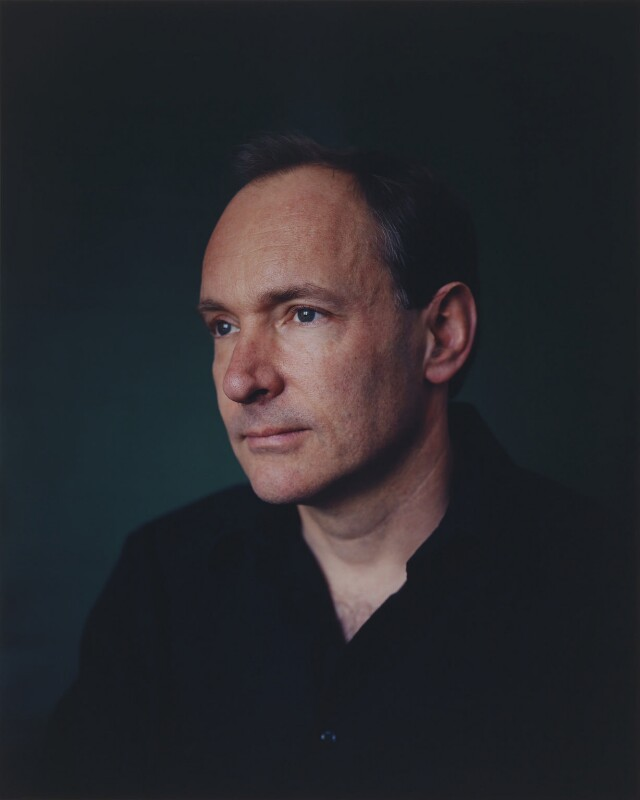 Sir Tim Berners-Lee, by Adam Broomberg and Oliver Chanarin, 13 April 2005 - NPG P1103 - © National Portrait Gallery, London