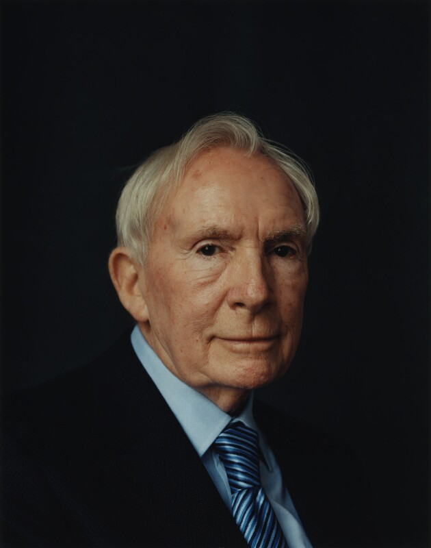 Sir Ernest Thomas ('Ernie') Harrison, by Adam Broomberg and Oliver Chanarin, 22 April 2005 - NPG P1113 - © National Portrait Gallery, London