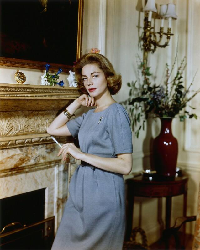 Lauren Bacall, by Cornel Lucas, 1958 - NPG x127220 - © estate of Cornel Lucas