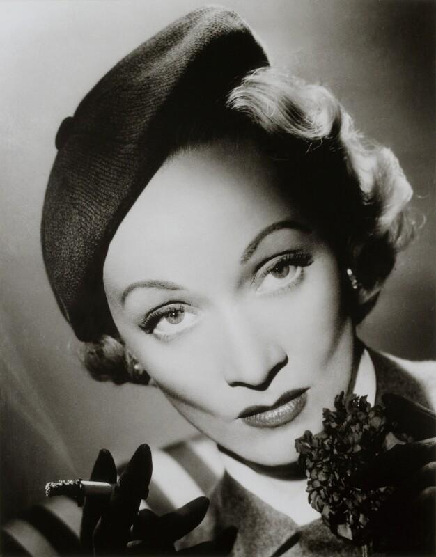 Marlene Dietrich, by Cornel Lucas, 1951 - NPG x127224 - © estate of Cornel Lucas