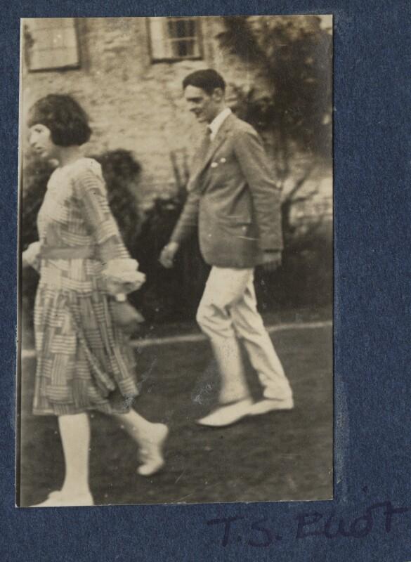 Julian Vinogradoff (née Morrell); T.S. Eliot, by Lady Ottoline Morrell, 1920 - NPG Ax140845 - © National Portrait Gallery, London