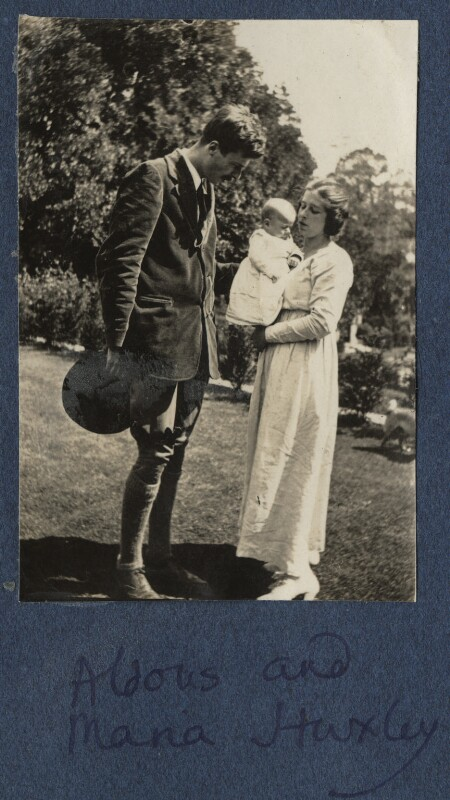 The Huxley family, by Lady Ottoline Morrell, 1920 - NPG Ax140859 - © National Portrait Gallery, London
