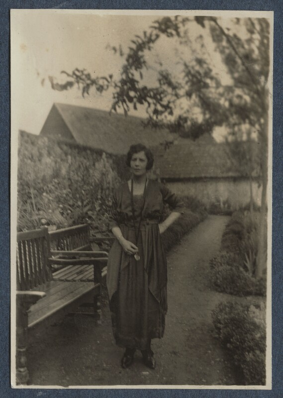 Vivienne ('Vivien') Eliot (née Haigh-Wood), by Lady Ottoline Morrell, 1920 - NPG Ax140866 - © National Portrait Gallery, London