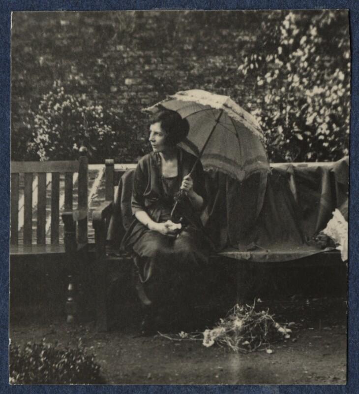 Vivienne ('Vivien') Eliot (née Haigh-Wood), by Lady Ottoline Morrell, 1920 - NPG Ax140865 - © National Portrait Gallery, London