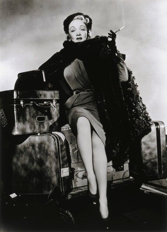 Marlene Dietrich, by Cornel Lucas, 1951 - NPG x127257 - © estate of Cornel Lucas