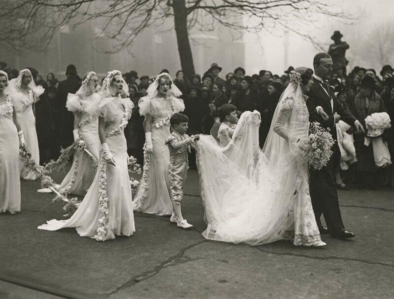 npg x36487 the wedding of nancy beaton and sir hugh