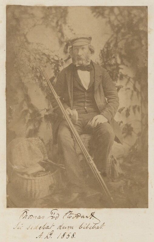 Thomas Tod Stoddart, by Unknown photographer, 1858 - NPG P1092 - © National Portrait Gallery, London