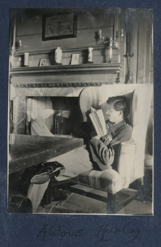 Aldous Huxley, by Lady Ottoline Morrell, 1921 - NPG Ax141204 - © National Portrait Gallery, London