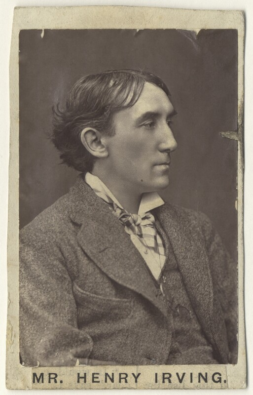 Sir Henry Irving, by Lock & Whitfield, circa early 1870s - NPG x17935 - © National Portrait Gallery, London