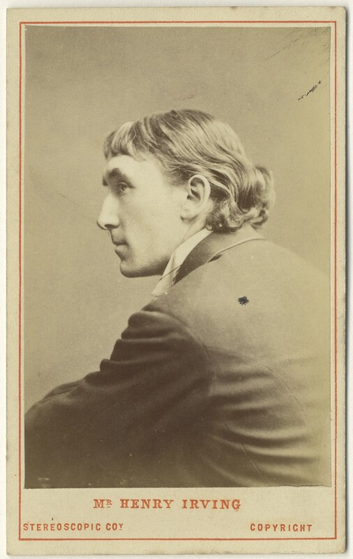 Sir Henry Irving, by London Stereoscopic & Photographic Company, 1870s - NPG Ax46233 - © National Portrait Gallery, London