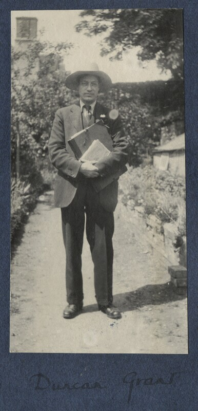 Duncan Grant, by Lady Ottoline Morrell, 1922 - NPG Ax141304 - © National Portrait Gallery, London