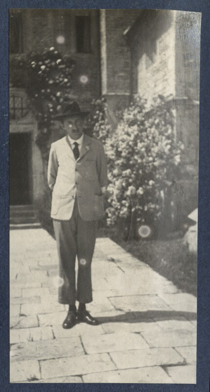 E.M. Forster, by Lady Ottoline Morrell, 1922 - NPG Ax141327 - © National Portrait Gallery, London