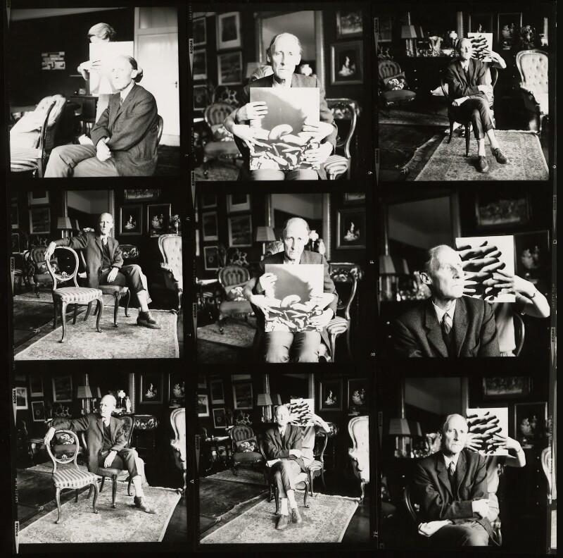 Bill Brandt, by Ida Kar, August 1968 - NPG x127317 - © National Portrait Gallery, London