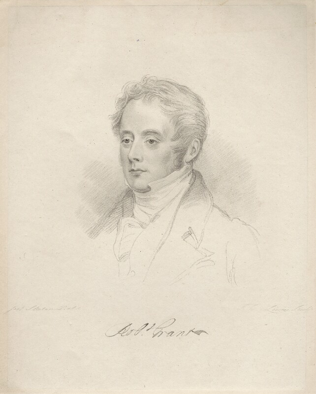 Sir Robert Grant, by Frederick Christian Lewis Sr, after  Joseph Slater, 1826 or after - NPG D20594 - © National Portrait Gallery, London