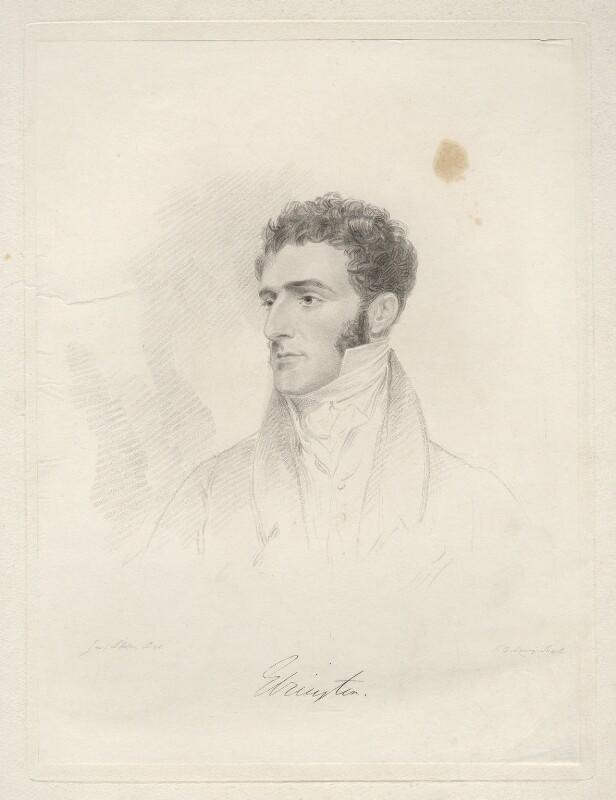 Hugh Fortescue, 2nd Earl Fortescue, by Frederick Christian Lewis Sr, after  Joseph Slater, 1826 or after - NPG D20597 - © National Portrait Gallery, London