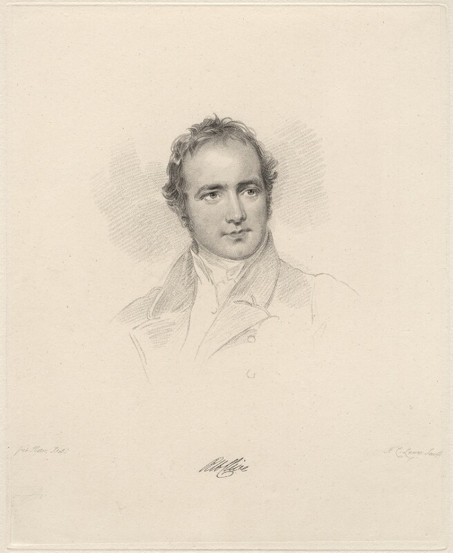 Robert Henry Clive, by Frederick Christian Lewis Sr, after  Joseph Slater, 1826 or after - NPG D20612 - © National Portrait Gallery, London