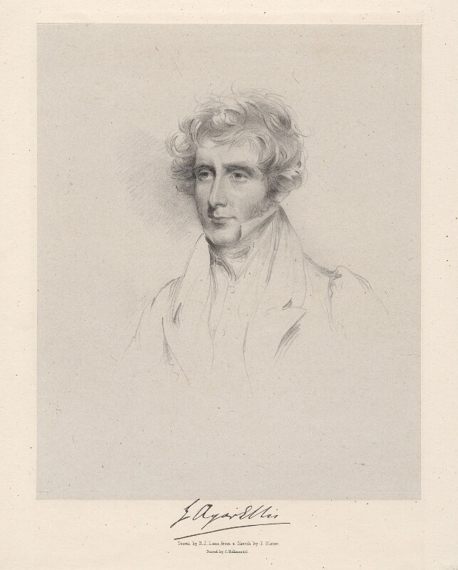 George Agar-Ellis, 1st Baron Dover, by Richard James Lane, after  Joseph Slater, 1826 or after - NPG D20614 - © National Portrait Gallery, London