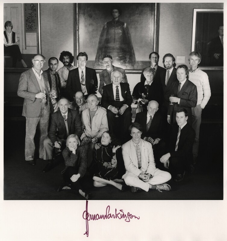 Photographers of 'Stars of the British Screen', by Norman Parkinson, 11 December 1985 - NPG x127320 - © Norman Parkinson Archive/ Iconic Images