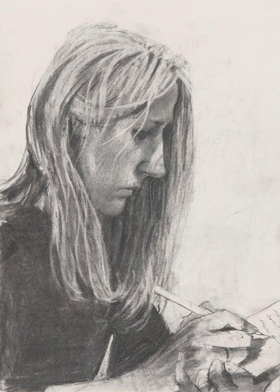 J.K. Rowling, by Stuart Pearson Wright, 2005 - NPG 6745(12) - © National Portrait Gallery, London