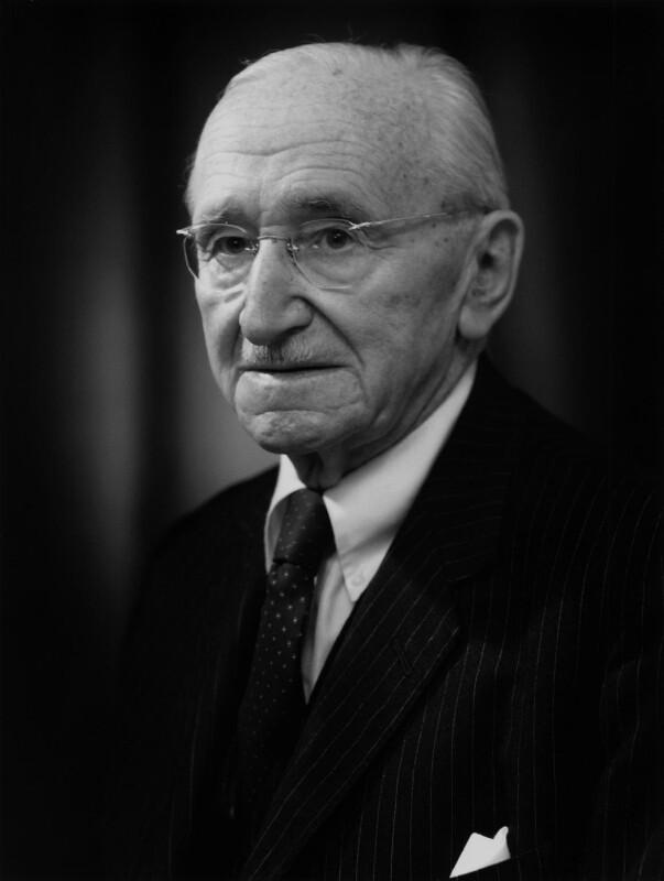 Friedrich August von Hayek, by Bassano Ltd, 27 April 1979 - NPG x171799 - © National Portrait Gallery, London