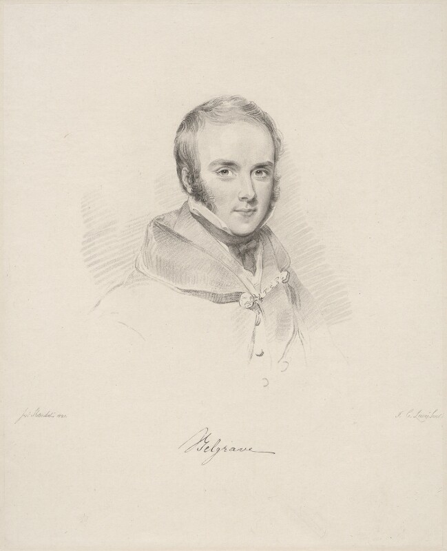 Richard Grosvenor, 2nd Marquess of Westminster, by Frederick Christian Lewis Sr, after  Joseph Slater, (1821) - NPG D20615 - © National Portrait Gallery, London