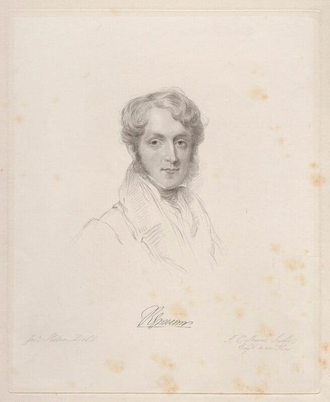 Robert Grosvenor, 1st Baron Ebury, by Frederick Christian Lewis Sr, after  Joseph Slater, 1831 or after - NPG D20632 - © National Portrait Gallery, London