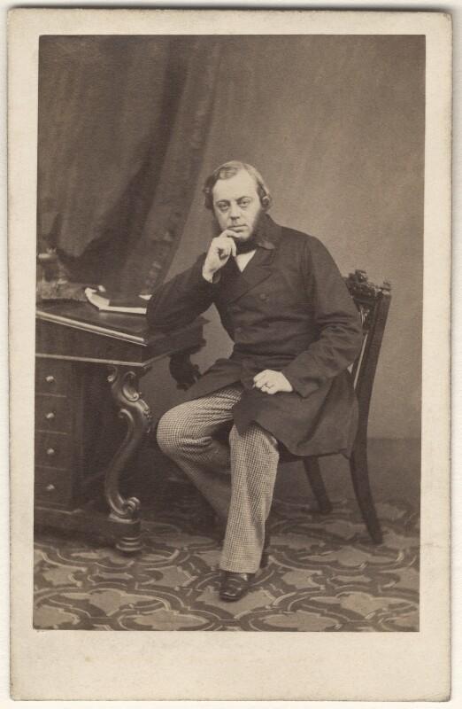 John Winston Spencer Churchill, 7th Duke of Marlborough, by Maull & Polyblank, circa 1862 - NPG Ax29656 - © National Portrait Gallery, London
