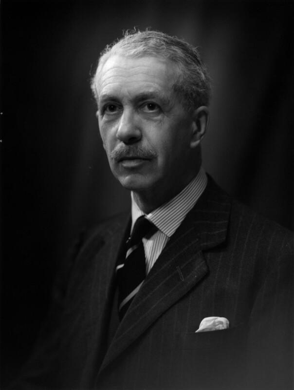 Sir James Fergusson, 8th Bt, by Bassano Ltd, 14 July 1965 - NPG x172084 - © National Portrait Gallery, London