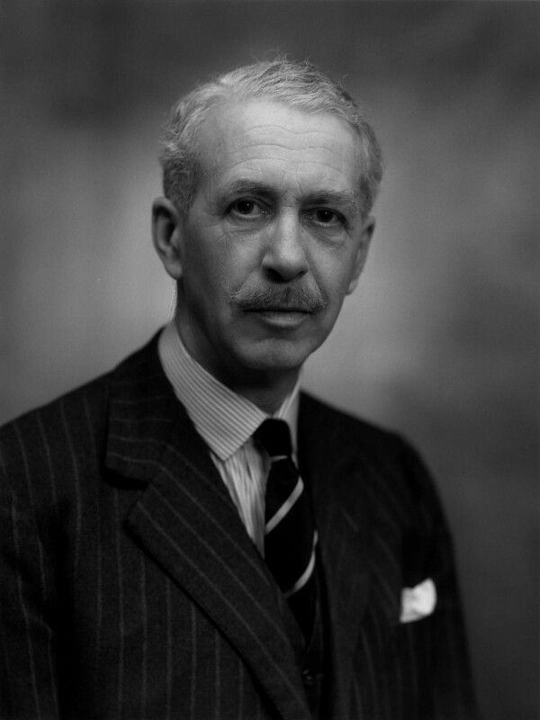 Sir James Fergusson, 8th Bt, by Bassano Ltd, 14 July 1965 - NPG x172086 - © National Portrait Gallery, London