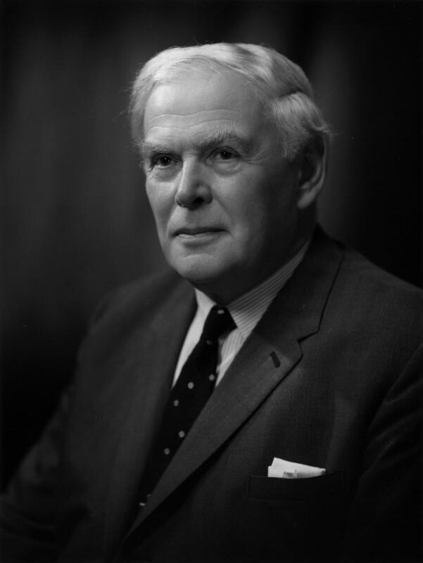 George Cyril Allen, by Bassano Ltd, 8 September 1965 - NPG x172097 - © National Portrait Gallery, London